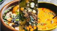 Sriubos – nuo sočios bulvienės iki egzotiškos miso su krevetėmis (nuotr. Dovilės Ramoškaitės)