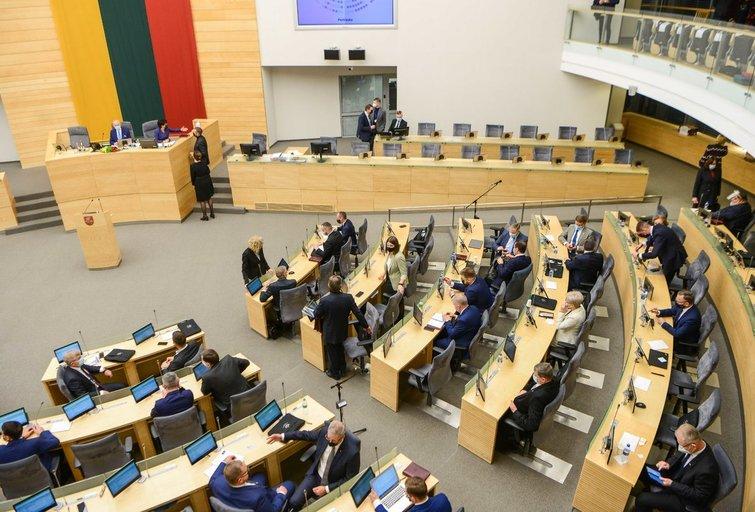 Į Seimo pirmininkus pasiūlyta vienintelė kandidatė – Viktorija Čmilytė-Nielsen (nuotr. Fotodiena/Justino Auškelio)