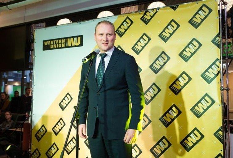 """""""Western Union Lietuva"""" atidarė savo pirmąjį Klientų aptarnavimo padalinį"""