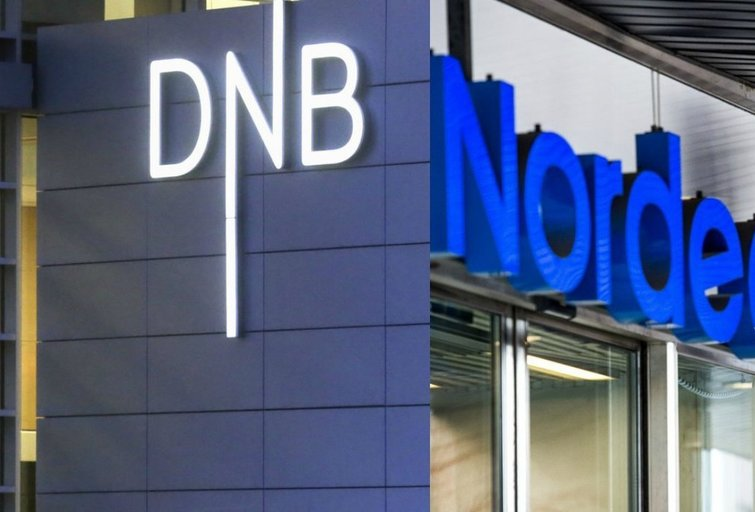 DNB ir Nordea (nuotr. SCANPIX) tv3.lt fotomontažas