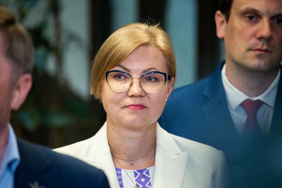 Valstiečiai paskelbė sąrašą Seimo rinkimams (nuotr. Justinas Auškelis/Fotodiena)