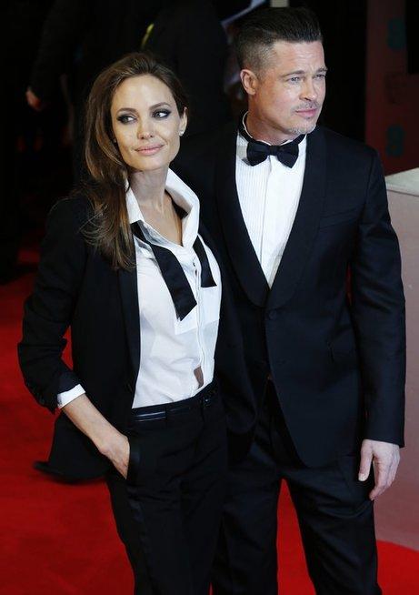 Angelina Jolie ir Brad Pitt