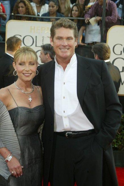 Davidas Hasselhoffas ir Pamela Bach