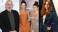 Robertas DeNiro, Kendall irKylie Jenner, Amy Adams (nuotr. Vida Press)