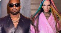 Kanye West ir Jeffree Star (tv3.lt fotomontažas)