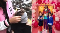 Filipas Kirkorovas dukrai surengė staigmeną (nuotr. Instagram)