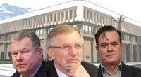 K. Tubis, G. Kirkilas ir D. Bradauskas (tv3.lt fotomontažas)