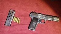 Marijampolėje policija sulaikė 30 tūkst. eurų vertės kokaino ir ginklą turėjusį asmenį (nuotr. Policijos)