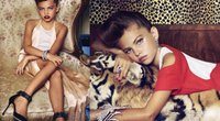 Thylane Lena-Rose Blondeau (nuotr. Vogue Paris/Instagram)