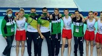 Lietuvos gimnastai. (nuotr. Organizatorių)