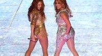 Shakira ir Jennifer Lopez (nuotr. Vida Press)