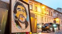 Memorialas D. Maradonai Užupyje (nuotr. Fotodiena/Viltės Domkutės)
