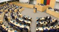 Seimas sprendžia dėl nuotolinio darbo (nuotr. Fotodiena/Justino Auškelio)
