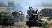 """Rusija ir Baltarusija planuoja bendras strategines pratybas """"Zapad 2021"""" (nuotr. SCANPIX)"""