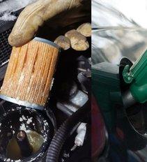 Užšalus kurui vairuotojas kaltina degalinę, o ši – jo automobilį