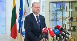 Premjeras dėl pasienyje įstrigusių lietuvių: visi turėjome kitokių lūkesčių