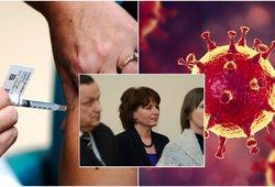 Žvirblienė apie Covid-19 vakcinos šalutinius poveikius: jie pavojingesni jauniems žmonėms