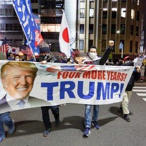Vašingtonas primena karo zoną: įspėja apie galimus neramumus