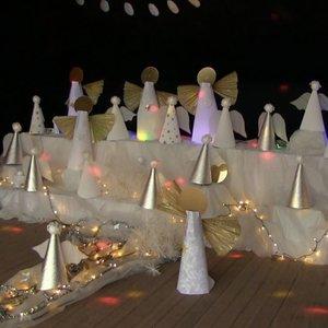 Nors šventės baigėsi, bet Angelų miestas Baisogaloje vis dar džiugina gyventojus