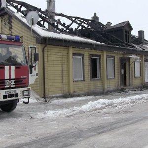 Šaltas savaitgalis karštas ugniagesiams – į gaisrus lėkė 130 kartų