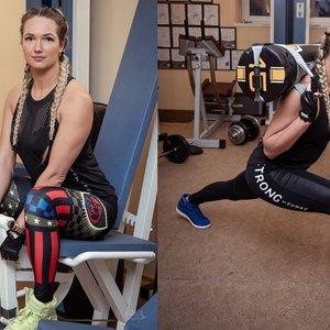 Dailus kūnas treniruojantis namuose: sporto trenerė papasakojo, kaip pagražinti formas
