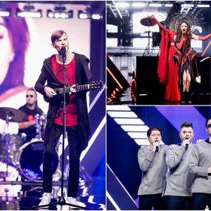 """Paaiškėjo pirmieji nacionalinės """"Eurovizijos"""" pusfinalio dalyviai: žiūrovų ir komisijos balsai išsiskyrė"""