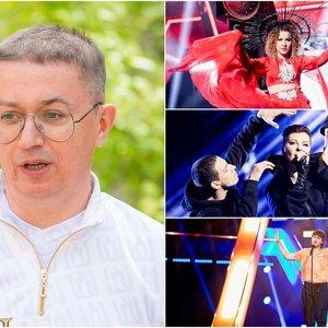 """Pogrebnojus rėžė, ką galvoja apie nacionalinę """"Eurovizijos"""" atranką: """"Jau visai į mokyklos koncertėlįpavirto"""""""