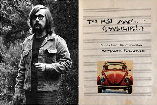 Vytautas Kernagis (tv3.lt fotomontažas)