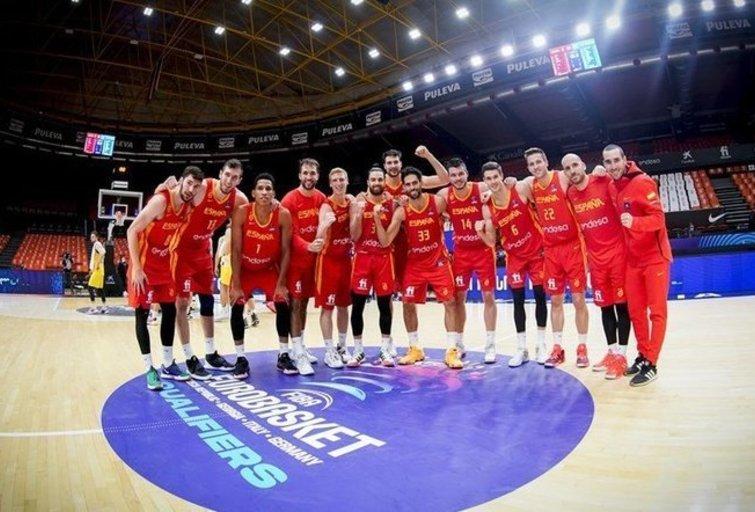 Ispanijos rinktinė pateko į pirmenybes (nuotr. FIBA)