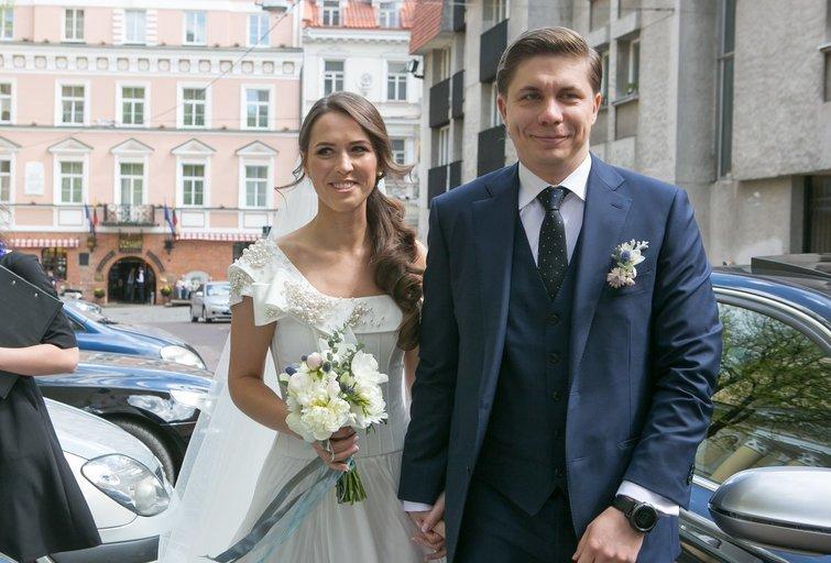 Mindaugas Sinkevičius su žmona