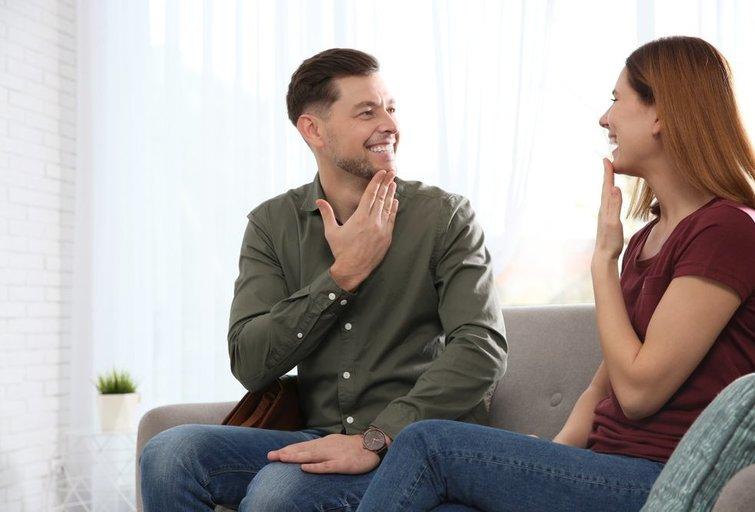 Gestų kalba (nuotr. Shutterstock.com)
