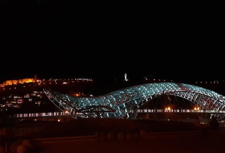 Naktinis Tbilisis (nuotr. asm. archyvo)