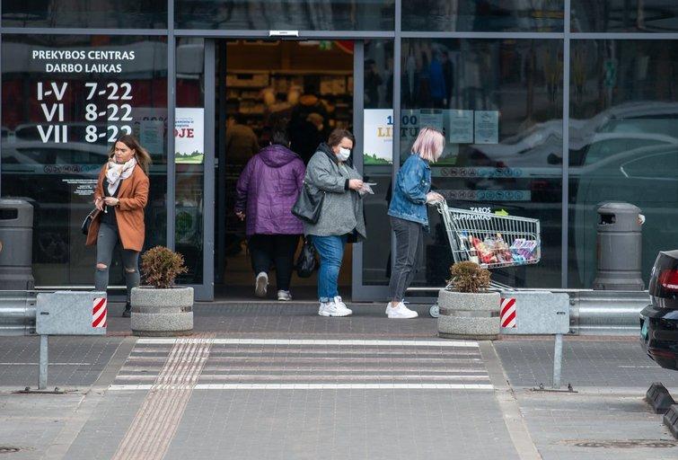 Parduotuvė (nuotr. Fotodiena/Justino Auškelio)