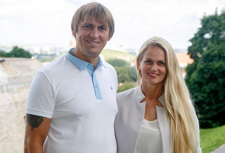 Eglė ir Darius Kauneckai (nuotr. Tv3.lt/Ruslano Kondratjevo)