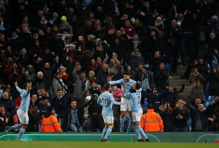 """""""Manchester City"""" – """"Bristol City"""" 2:1 (nuotr. SCANPIX)"""