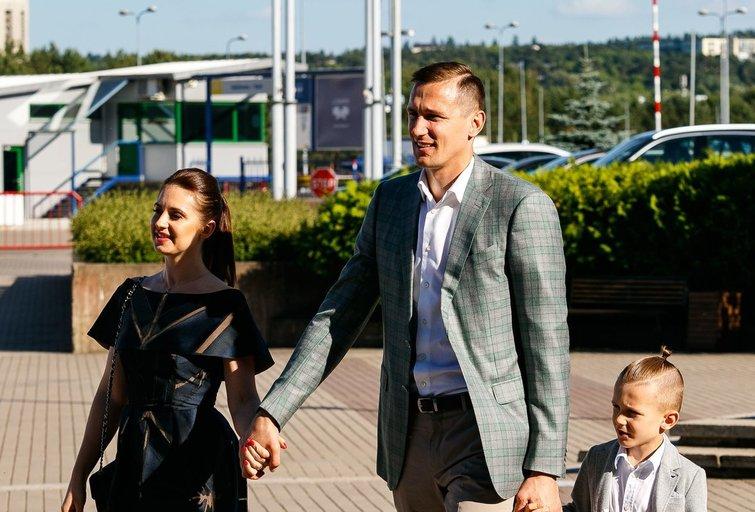 Paulius Jankūnas su šeima (nuotr. Tv3.lt/Ruslano Kondratjevo)