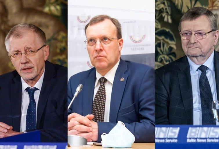 G. Kirkilas, J. Bernatonis ir N. Puteikis (nuotr. tv3.lt)