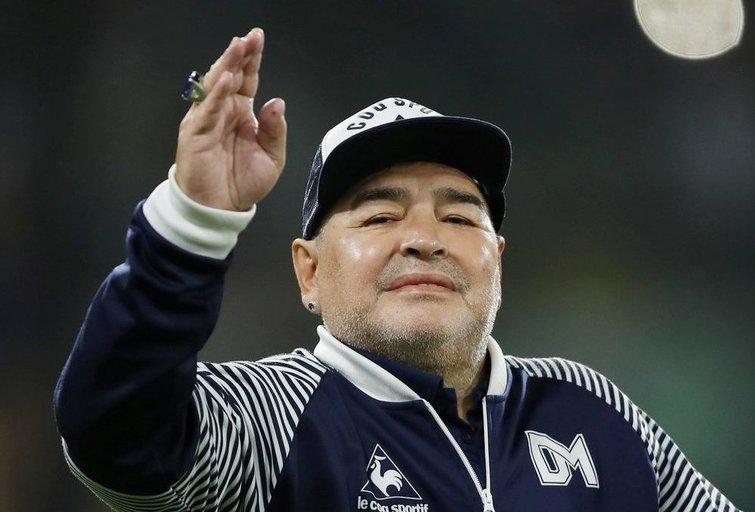 D. Maradona (nuotr. SCANPIX)