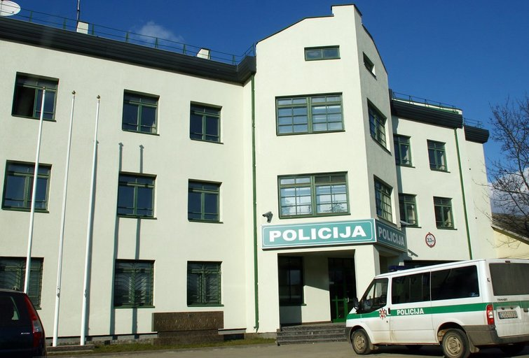 Alytaus policija (Tomas Urbelionis/Fotobankas)