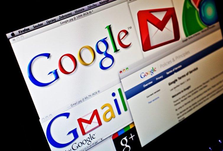 Gmail (nuotr. Vida Press)