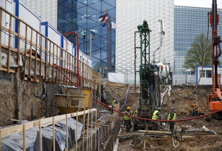 Statybos (nuotr. Fotodiena/Eglės Mačiulskytės)