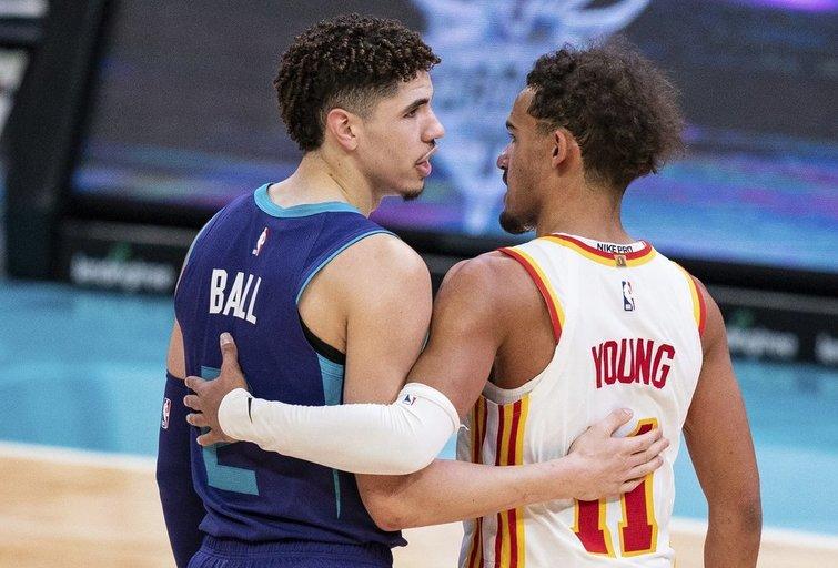 L. Ballas ir T. Youngas (nuotr. SCANPIX)