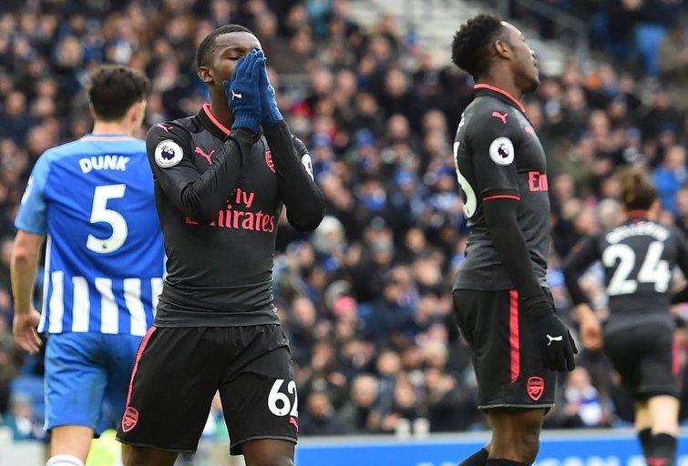 """""""Brighton and Hove Albion"""" – Londono """"Arsenal"""" 2:1 (nuotr. SCANPIX)"""