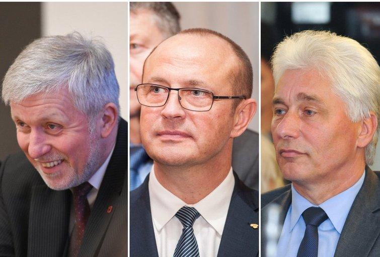 Ričardas Malinauskas. Gintautas Gegužinskas. Antanas Černeckis