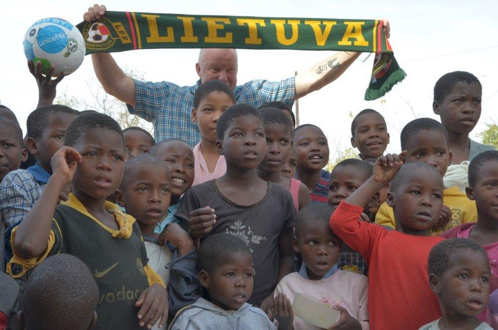 Vytaro Radzevičiaus įspūdžiai Svazilande (nuotr. Organizatorių)