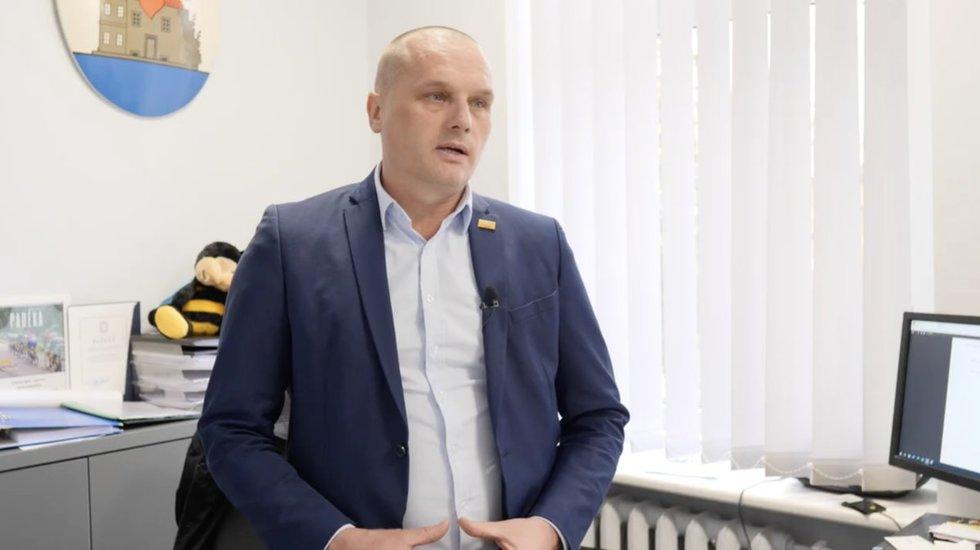 Ukmergės rajono savivaldybės administracijos direktorius Darius Varnas