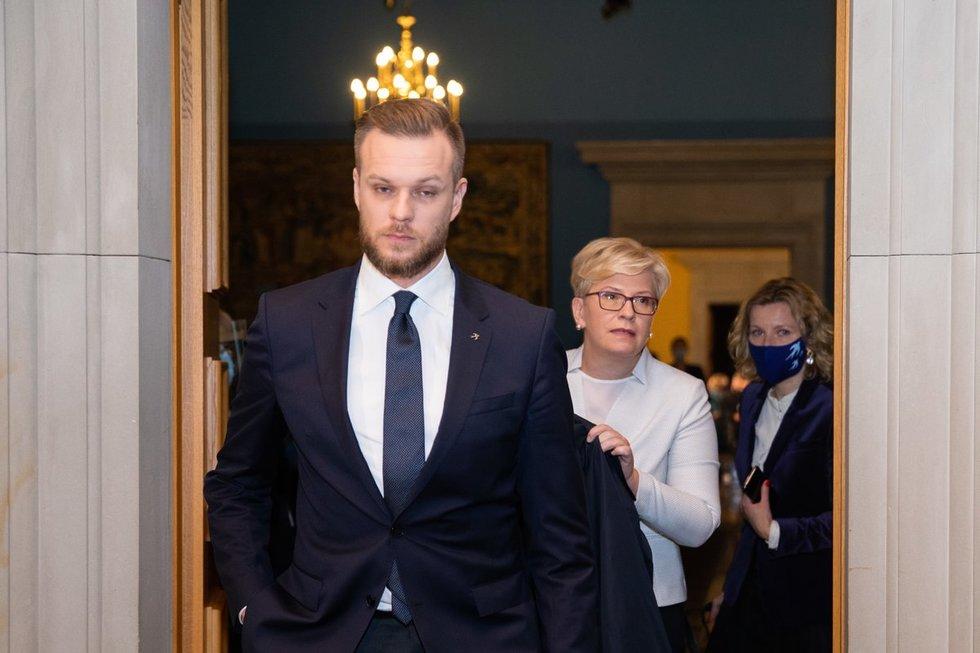 Ingrida Šimonytė ir Gabrielius Landsbergis