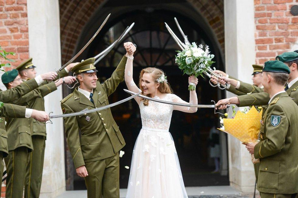 Sostinėje susituokė TV3 sporto žinių vedėja Patricija ir jos mylimasis Justas