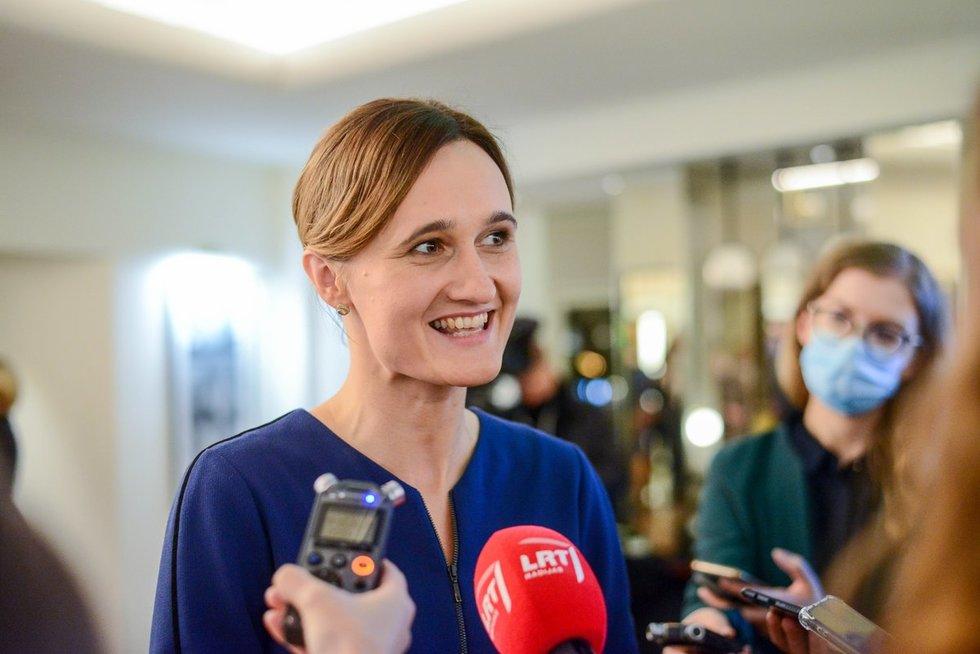 Viktorija Čmilytė-Nielsen (K. Polubinska nuotr.)