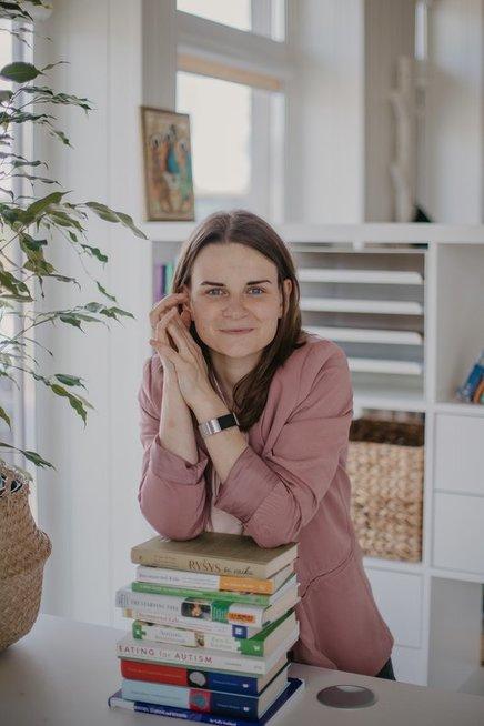 """""""DIR Floortime"""" metodikos specialistė, specialioji pedagogė Paulina Kuraitienė. """"Druska photography"""" nuotr."""